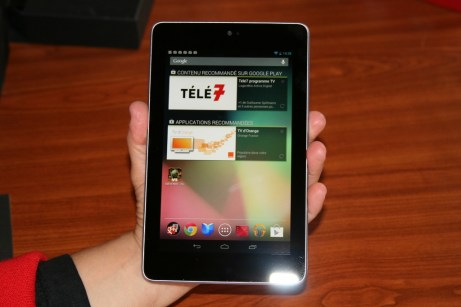 Test complet de la tablette Google Nexus 7 2