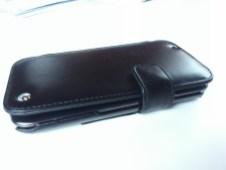Test housse en cuir de protection Norêve pour Samsung Galaxy Note 2 4