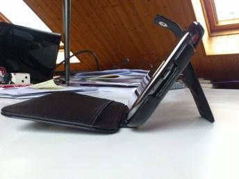 Test housse en cuir de protection Norêve pour Samsung Galaxy Note 2 17