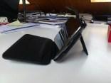 Test housse en cuir de protection Norêve pour Samsung Galaxy Note 2 21