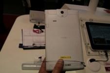 [MWC 2013] Prise en main de la tablette NEC Media Tab UL 6