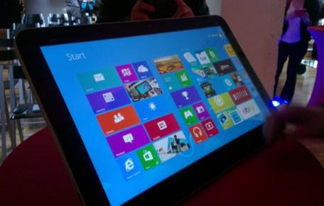 HP Envy Rove 20 et Slate 21, des tablettes géantes sous Windows 8 et Android 3