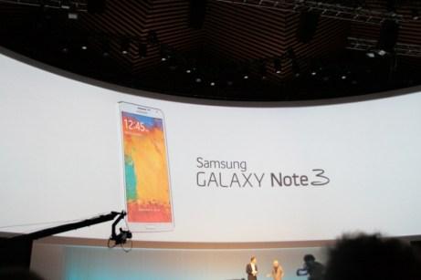 Samsung Galaxy Note 3 : caractéristiques, photos et vidéo de prise en main 1