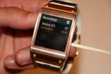 Samsung Galaxy Gear : caractéristiques, photos et vidéo de prise en main (poignet !) 20