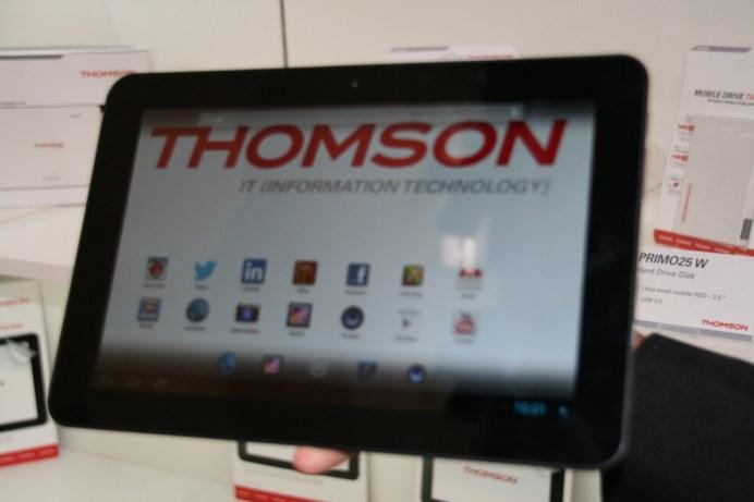 IFA 2013 : Thomson TO-NEO prise en main des nouvelles tablettes 1