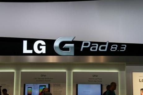 LG G Pad 8.3 : vidéo de prise en main à l'IFA 2013 de Berlin 8