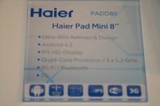 IFA 2013 : Haier présente la Haier Pad Mini 8 sous Android 4.2, prise en main, photo et vidéo 5