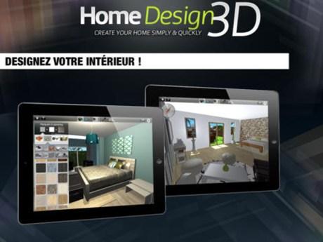 Réorganisez votre intérieur à l'aide de Home Design 3D sur iPad 3