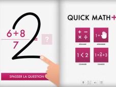 [Nouveauté] Faites travailler vos méninges avec l'application Quick Math + sur iPad 4