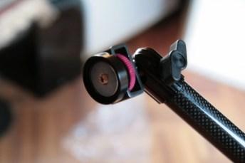 Test support et bras articulé pour iPad : Joyfactory Tube Tournez C-Clamp Mount 7
