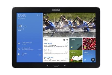 CES 2014 : Samsung lance sa nouvelle gamme de tablette Galaxy Tab Pro et Galaxy Note Pro 15