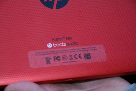 Test de la tablette HP Slate 10 HD 9