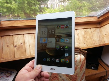 Test de la tablette Acer Iconia A1-830 8