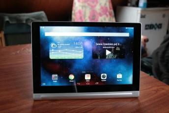 Test de la tablette Lenovo Yoga Tablet 2 8