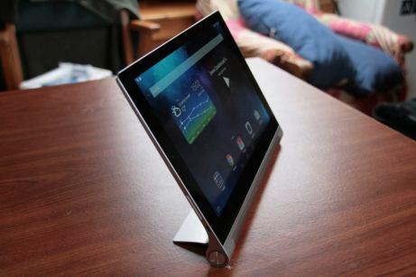 Test de la tablette Lenovo Yoga Tablet 2 10
