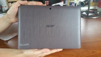 Test et avis tablette Acer Aspire Switch 12 E coque
