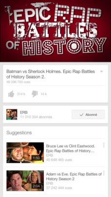 YouTube : des vidéos enfin en 60 FPS sur nos tablettes 1