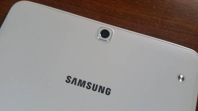 Test et avis Tablette Samsung Galaxy Tab S2 camera arriere