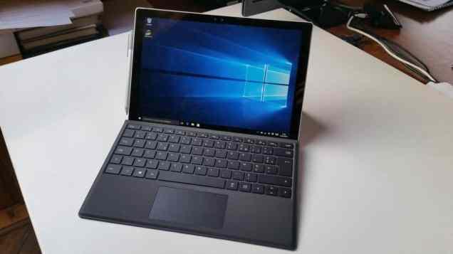 Test tablette Microsoft Surface Pro 4