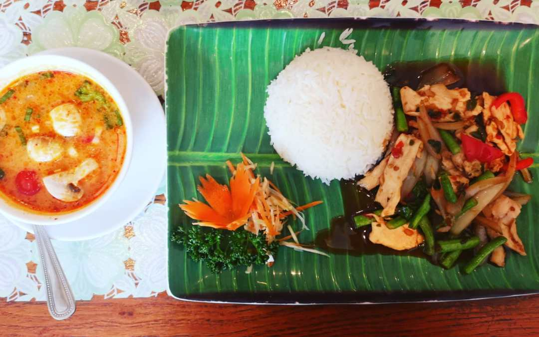 Thai Lunch @ Kanok Thai, Brighton