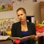 Bettina Holwerda-Bakkum leest Woezel en Pip – Fotoreportage