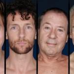 Peter Faber, Bill van Dijk, Marijn Brouwers en Guus Mulder in Parade-Boyband