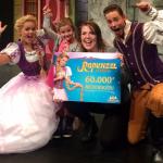 60.000 ste bezoeker voor Rapunzel De Musical!