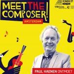 Paul Haenen, Mike Boddé en Stine Jensen interviewen componisten in theaterserie 'Meet the Composer!'