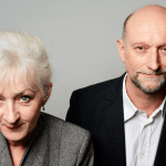 Paul R. Kooij en Joke Tjalsma in Een coming of age voor bejaarden van BERG&BOS in Theater aan het Spui
