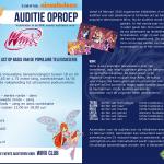 Auditieoproep Winx Club