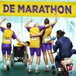 Exclusieve sneak preview cast De Marathon tijdens Luxor Marathon Run