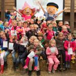 Kinderen zijn dol op TV-karakters Fien & Teun
