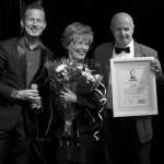 Greetje Kauffeld erelid van de Nederlandse Sinatra Society