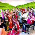 Honderden NKT Theaterschool leerlingen vast in de Alpen!