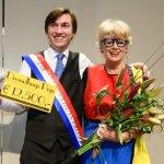 Steef de Jong ontvangt Mary Dresselhuys Prijs 2017