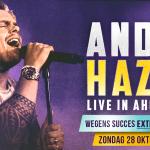 André Hazes dit jaar met drie eigen concerten in Ahoy