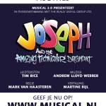Talenten gezocht voor Joseph and the Amazing Technicolor Dreamcoat