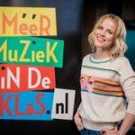 Ilse DeLange voor de klas als digitale muziekdocent