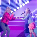 The Voice Kids finalist Sezina zingt duet met Glennis Grace tijdens Whitney Tribute in Rotterdam Ahoy