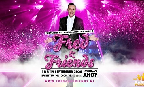 """Glennis Grace derde gastartiest bij """"Fred & Friends""""!"""