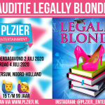 "Audities ""Legally Blonde"" in Hilversum"