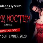Nieuwe speeldata musical Carpe Noctem