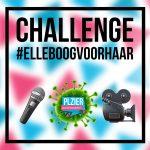 Plzier Entertainment komt met #ElleboogVoorHaar challenge