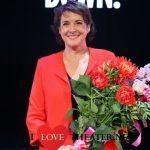 Anne-Mieke Ruyten speelt mevrouw Bongaerts in Dagboek van een Herdershond