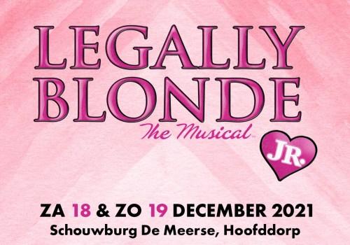 Hilarische hitmusical Legally Blonde op 18 en 19 december in De Meerse