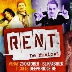 Complete 'RENT'-cast verhuist naar De Blikfabriek voor de previews