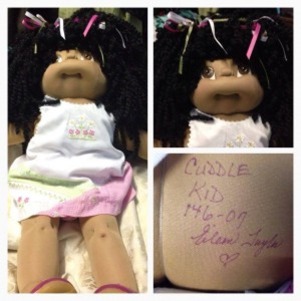 Brisbane Vintage and Collectables shared this Cabbage Patch Kid
