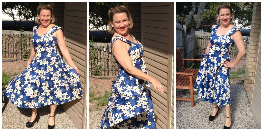 Middle Aged Mama does retro pinup style