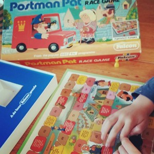 $2 Postman Pat board game