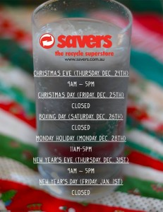 Here's their South Australian store hours for the next week.
